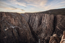 Majestic Striations Black Canyon Of The Gunnison, Crawford, Colorado