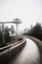 Walkway To Clingman's Dome, Highest Point Tennessee, Smokey Mountains