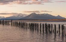 Sofia Lake, Puerto Natales, Patagonia, South Chile, South America