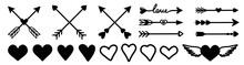 Arrow, Heart  Illustration