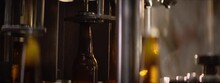 Slow Motion Video In A Brewery