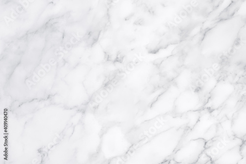 White marble texture for background or tiles floor decorative design Fototapet