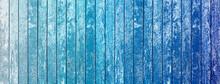 Fond Bois Dégradés De Bleu