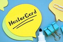 MasterCard Phrase On The Piece Of Paper.