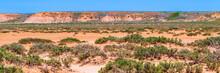 Dry Cracked Takir Soil In Semi-desert In Russia. Nature Landscape