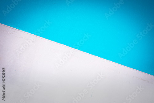 Tablou Canvas blue wall background