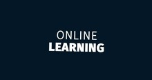 Online Learning. Learn Anything Everywhere. Animated Words. Kinetic Text Animation. Intro