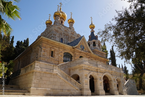Fotografia The Church of St Mary Magdalene in Gethsemane