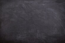 Chalk On Blackboard
