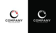 Eagle Head On Letter Logo Design C