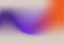 Retro Gradient Background With Grain Texture