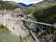 Red Cliff Arch Bridge, Over The Eagle River, Central Colorado