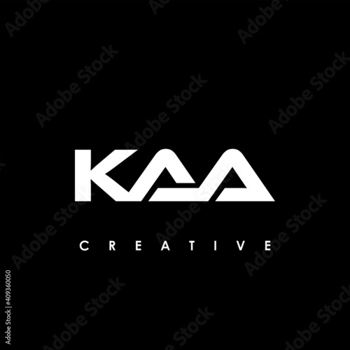 Photo KAA Letter Initial Logo Design Template Vector Illustration