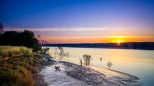 Sunrise View Over South Alligator River In Kakadu National Park