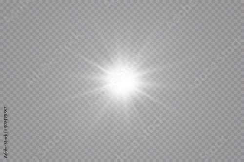 Glow effect Fototapeta