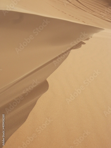 Foto sand dunes in the desert