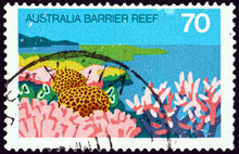 Postage Stamp Australia 1976 Great Barrier Reef, Queensland