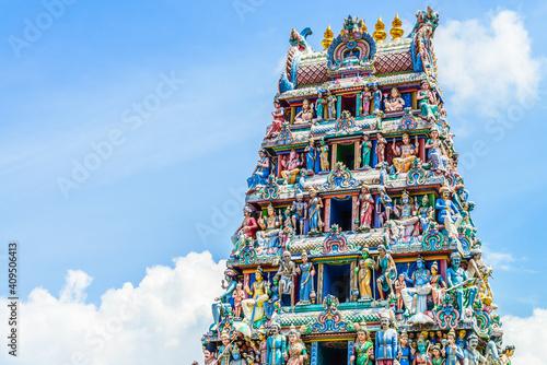 Fototapeta Indian Hindu temple