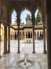 Court Of The Lions In Alhambra