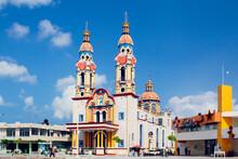 Parroquia San Marcos Evangelista En Paraíso Tabasco, México.