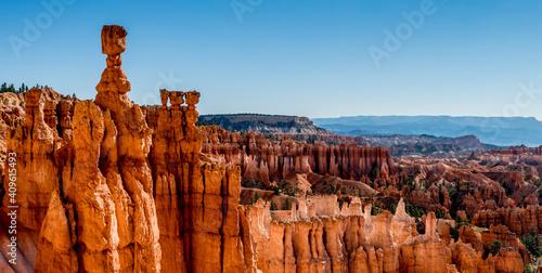 Foto Die Orange leuchtenden Hoodoo´s des Bryce Canyon Nationalpark in den USA