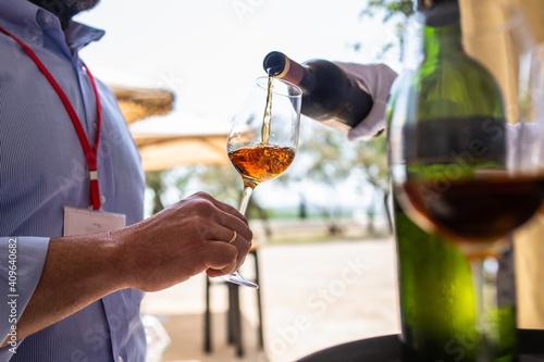 Fotografie, Obraz glass of wine