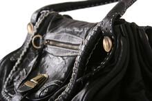 Leather And Elegant Ladies Bag