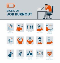 Signs Of Job Burnout And Exhaustion