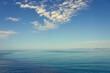 The Mediterranean coast on the island of Crete in Kolimbari.