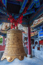 Bell Carillon Mianshan Jufeng Temple China