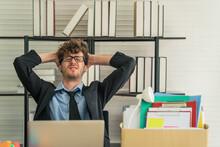 Employee Feel Sad Due To Job Lose From Coronavirus Covid-19 Lockdown