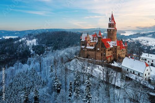Wallpaper Mural Castle in winter