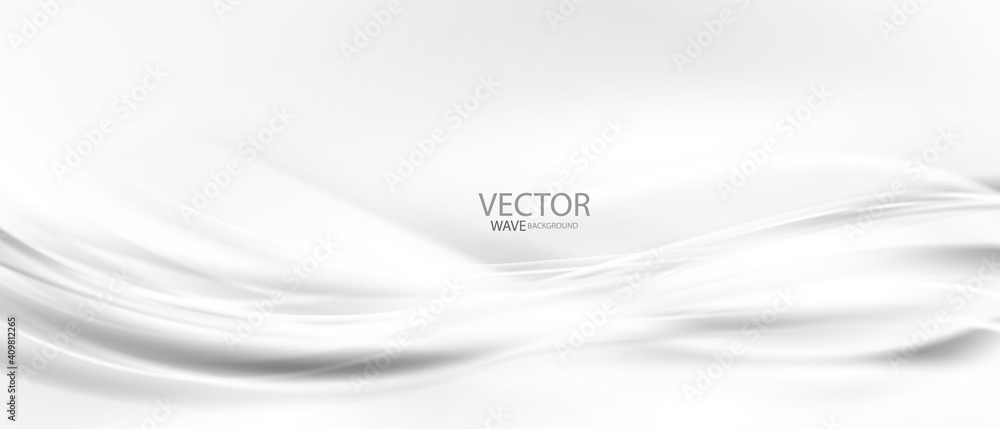 Fototapeta Abstract grey background poster with dynamic. technology network Vector illustration.