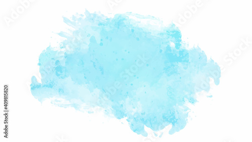 Blue watercolor background for textures backgrounds and web banners design