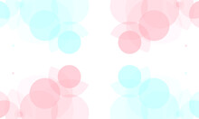 Abstract Red Blue Circles On White Background. Modern Graphic Design Element.