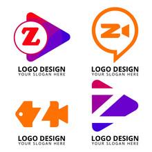 Letter Z Media Logo Design