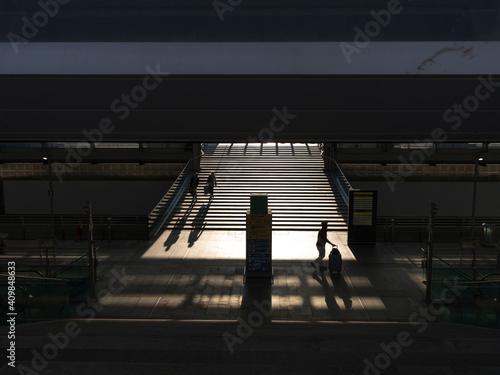 Slika na platnu Torino Porta Susa is the second busiest railway station in Turin, after Torino Porta Nuova