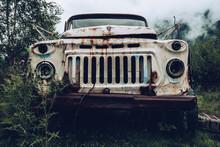 Abandoned Truck Rusty