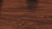 Brown Wood Stain Of A Wooden Table (3D Rendering)