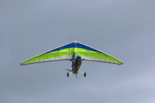 Ultralight Airplane After Take Off