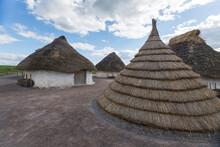 Neolithic Houses In Stonehenge