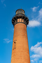 Currituck Beach Lighthouse Is A Lighthouse Located On The Outer Banks In Corolla, North Carolina.