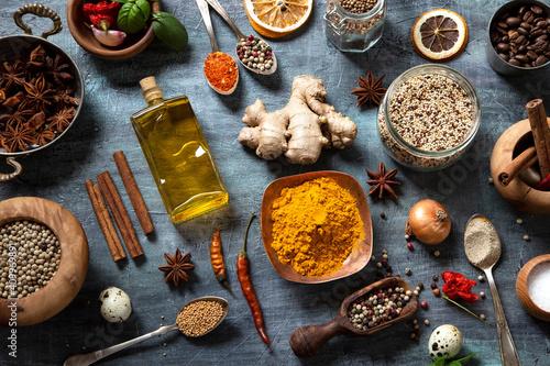 Spices Fototapete