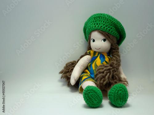 Tableau sur Toile Handmade doll
