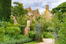 Hidcote Manor Garden In Cotswolds Area, England, UK