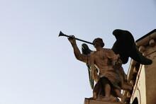 Statue Base In Venice