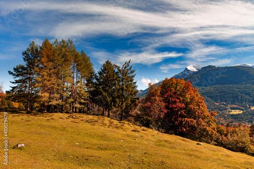 Autumn landscape in Berchtesgadener Land, Bavaria, Germany. © DirkR