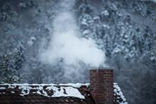 Smoking Chimney In Winter