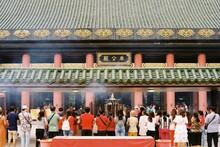 Wong Tai Sin Temple (Hong Kong) In Film Photo