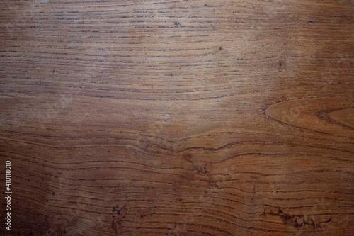 Obraz na plátně Texture de bois sombre - planche